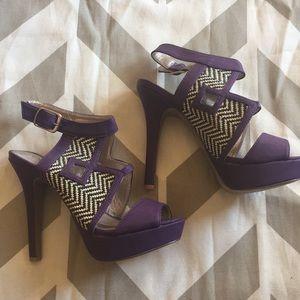 Brand New Purple Heels!!!